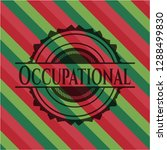 occupational christmas colors... | Shutterstock .eps vector #1288499830