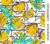tropical  stripe  animal motif. ...   Shutterstock .eps vector #1288500163