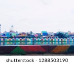 colorful object houses   Shutterstock . vector #1288503190