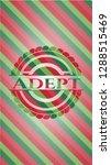 adept christmas badge. | Shutterstock .eps vector #1288515469