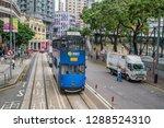 hong kong  china  september 28  ...   Shutterstock . vector #1288524310