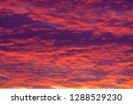 texture pattern clouds at... | Shutterstock . vector #1288529230
