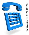 telephone   3d   Shutterstock . vector #128852980