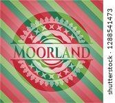 moorland christmas emblem... | Shutterstock .eps vector #1288541473