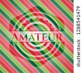 amateur christmas emblem... | Shutterstock .eps vector #1288541479