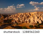 landscape of rose valley at... | Shutterstock . vector #1288562260