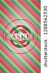 casket christmas colors style... | Shutterstock .eps vector #1288562530