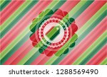 tag icon inside christmas... | Shutterstock .eps vector #1288569490