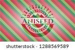 aniseed christmas style badge.. | Shutterstock .eps vector #1288569589