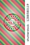 bankrupt christmas colors style ... | Shutterstock .eps vector #1288580119