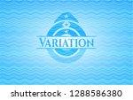 variation sky blue water wave... | Shutterstock .eps vector #1288586380