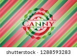 canny christmas colors style... | Shutterstock .eps vector #1288593283