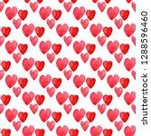hearts seamless pattern.... | Shutterstock . vector #1288596460