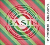 basin christmas colors emblem. | Shutterstock .eps vector #1288600906