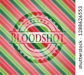bloodshot christmas colors... | Shutterstock .eps vector #1288626553