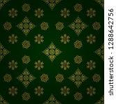 vector geometric seamless... | Shutterstock .eps vector #1288642756