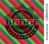 budge christmas style badge.. | Shutterstock .eps vector #1288645216
