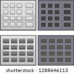button stud node   Shutterstock .eps vector #1288646113