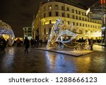 moscow  russia   january 13 ...   Shutterstock . vector #1288666123