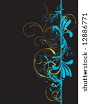 illustration of a decorative... | Shutterstock .eps vector #12886771