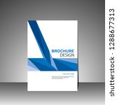 brochure template.magazine...   Shutterstock .eps vector #1288677313
