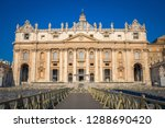 rome  vatican state   august 20 ... | Shutterstock . vector #1288690420