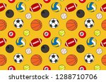pattern of various types of... | Shutterstock .eps vector #1288710706