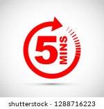 icon timer set | Shutterstock .eps vector #1288716223