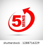 icon timer set | Shutterstock .eps vector #1288716229