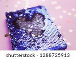 bright composition of fashion... | Shutterstock . vector #1288725913