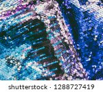 bright shiny rugged texture of... | Shutterstock . vector #1288727419