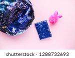 bright composition of fashion...   Shutterstock . vector #1288732693
