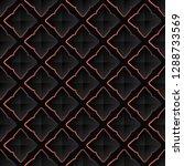 classic victorian dark vintage...   Shutterstock .eps vector #1288733569