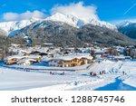 seefeld  austria   january 12 ... | Shutterstock . vector #1288745746