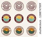 nature logo design concept....   Shutterstock .eps vector #1288747009