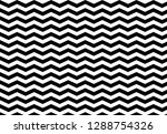 zig zag black and white... | Shutterstock . vector #1288754326