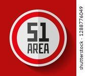 secret base. area 51. danger... | Shutterstock .eps vector #1288776049