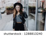 young fashion business woman... | Shutterstock . vector #1288813240