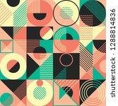 geometric pattern design in... | Shutterstock .eps vector #1288814836