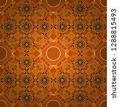 orange  yellow and black vector ... | Shutterstock .eps vector #1288815493