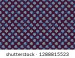 abstract floral seamless... | Shutterstock . vector #1288815523