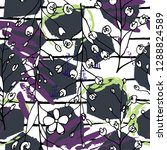 tropical  stripe  animal motif. ...   Shutterstock .eps vector #1288824589