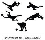 The Set Of Soccer Goalkeeper...