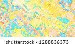 closeup of colorful geometric... | Shutterstock . vector #1288836373