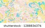 closeup of colorful geometric... | Shutterstock . vector #1288836376