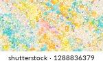 closeup of colorful geometric... | Shutterstock . vector #1288836379