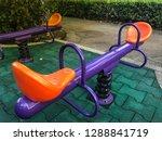 orange and violet  balance... | Shutterstock . vector #1288841719
