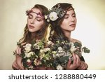 spring  summer fashion photo... | Shutterstock . vector #1288880449
