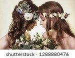 spring  summer fashion photo... | Shutterstock . vector #1288880476