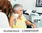 senior man at medical...   Shutterstock . vector #1288893049